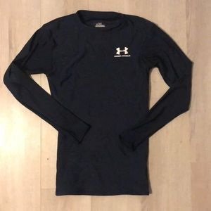 Women's Under Armour Long Sleeve Blue Top Small